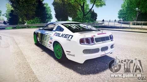 Ford Mustang GT Falken Tire v2.0 pour GTA 4 Vue arrière de la gauche