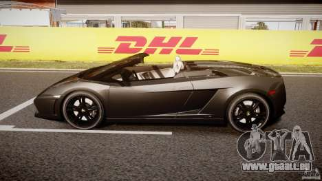 Lamborghini Gallardo LP560-4 Spyder 2009 für GTA 4 linke Ansicht