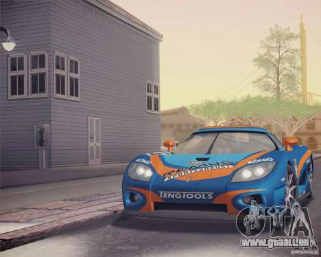 Koenigsegg CCX 2006 v2.0.0 pour GTA San Andreas