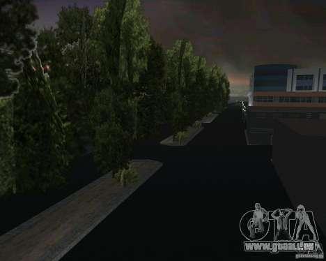 Retour à la future vallée de Hill pour GTA Vice City onzième écran
