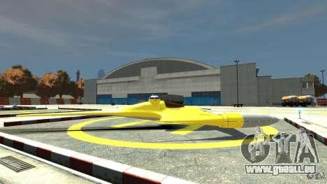 Naboofighter für GTA 4 linke Ansicht