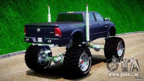 Dodge Ram 3500 2010 Monster Bigfut für GTA 4 Seitenansicht