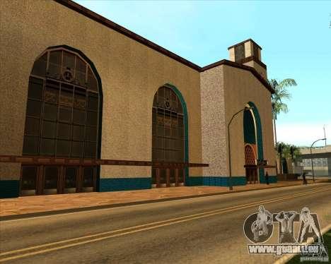 Nouvelle Station de l'unité pour GTA San Andreas