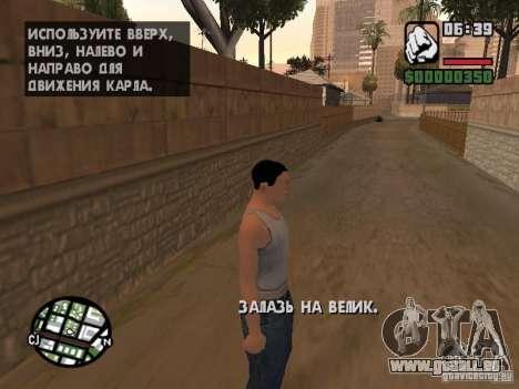 Skin pour CJ-Cool mec pour GTA San Andreas troisième écran