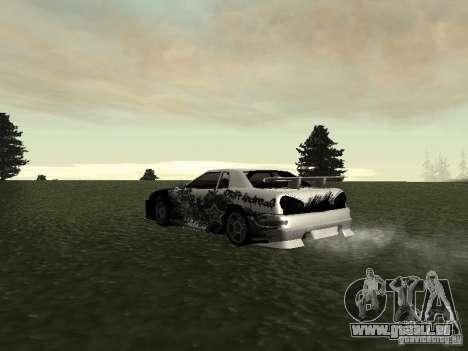 Drift Star pour GTA San Andreas sur la vue arrière gauche
