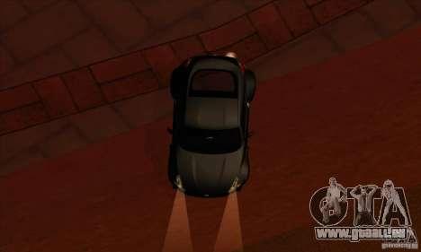 Nissan 370z Drift Edition pour GTA San Andreas vue intérieure