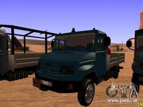 ZIL 5301 Goby pour GTA San Andreas vue arrière