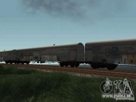 Refrežiratornyj wagon peint de Dessau no 8 pour GTA San Andreas vue de droite
