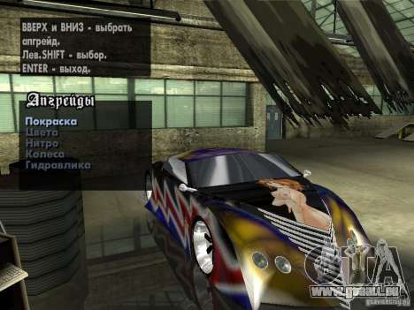 Thunderbold SlapJack für GTA San Andreas
