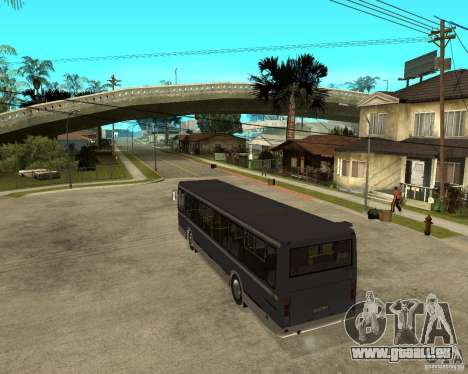 LIAZ 5256.25 restylage pour GTA San Andreas laissé vue