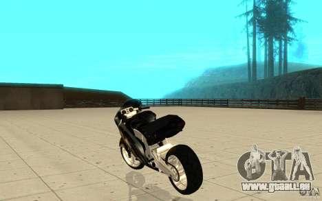 GTAIV TLAD Hakuchou Custom Version [paintjob] für GTA San Andreas zurück linke Ansicht