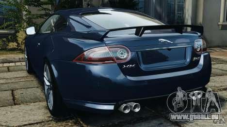 Jaguar XKR-S Trinity Edition 2012 v1.1 pour GTA 4 Vue arrière de la gauche
