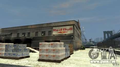 Red Bull Factory pour GTA 4 secondes d'écran