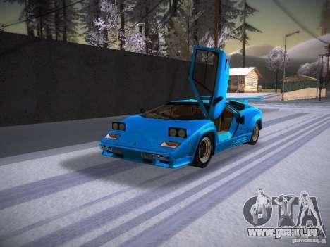 Lamborghini Countach LP5000 pour GTA San Andreas laissé vue