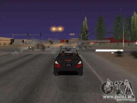 Champ de force pour GTA San Andreas quatrième écran