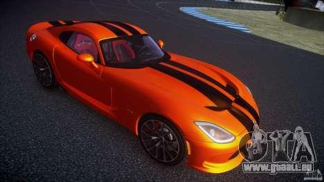 Dodge Viper GTS 2013 v1.0 pour GTA 4 Vue arrière de la gauche