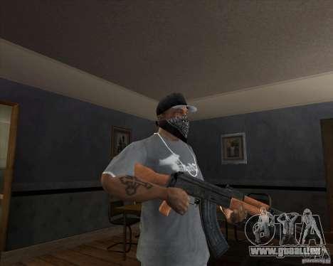 AK-47 mis à jour pour GTA San Andreas