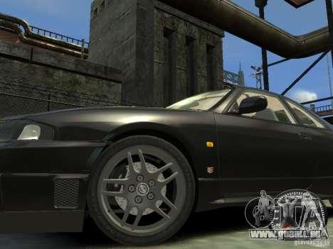 Nissan Skyline GT-R V-Spec (R33) 1997 pour GTA 4 est une gauche