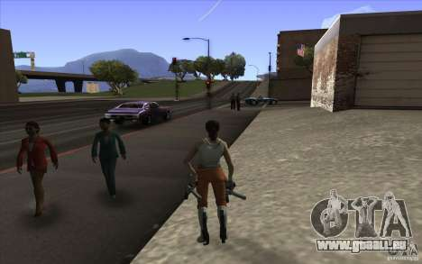 Chell from Portal 2 pour GTA San Andreas deuxième écran