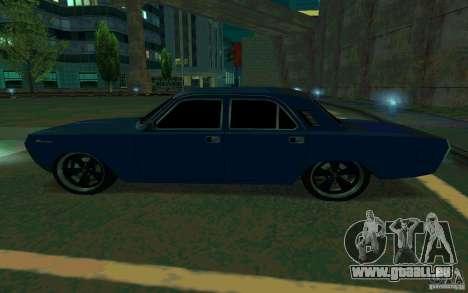 GAZ Volga 24 v2 (version bêta) pour GTA San Andreas laissé vue