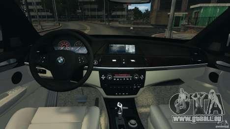 BMW X5 xDrive30i pour GTA 4 Vue arrière