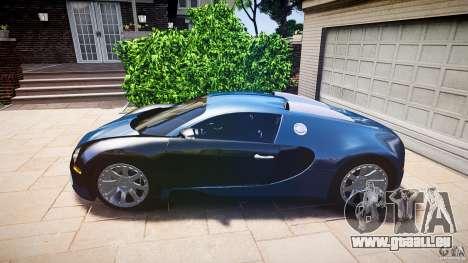 Bugatti Veyron 16.4 v3.0 2005 [EPM] Strasbourg für GTA 4 hinten links Ansicht