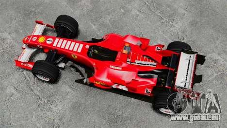 Ferrari F2005 für GTA 4 rechte Ansicht