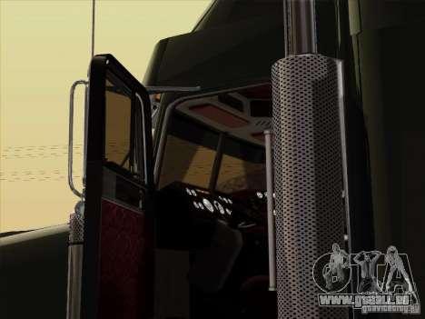 Freightliner FLD 120 Classic XL pour GTA San Andreas vue intérieure