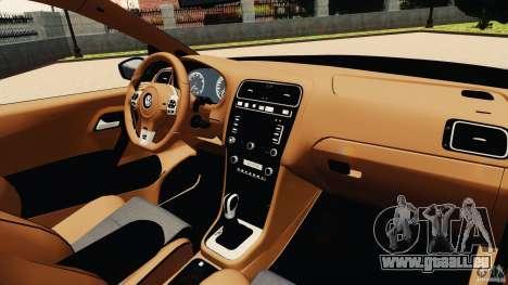 Volkswagen Polo v2.0 pour GTA 4 Vue arrière