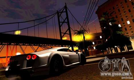 Noble M600 für GTA San Andreas Seitenansicht