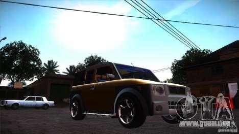 Honda Element LX pour GTA San Andreas vue arrière