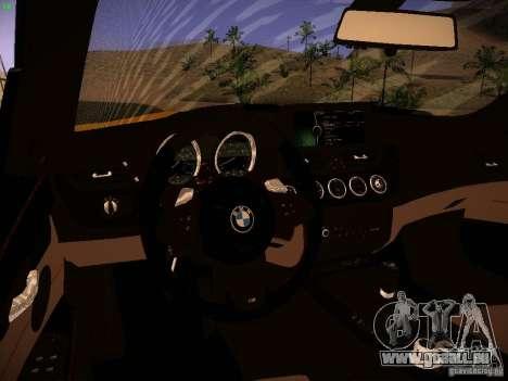 BMW Z4 sDrive28i 2012 pour GTA San Andreas vue de dessus