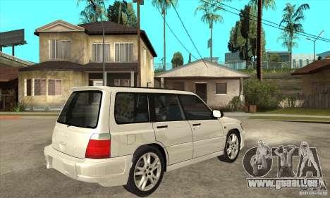 Subaru Forester pour GTA San Andreas vue de droite