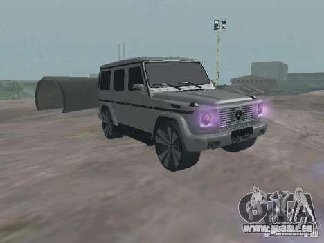 Mercedes-Benz G500 Kromma 1480 pour GTA San Andreas