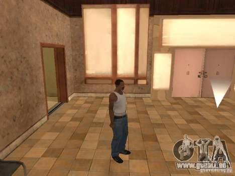 L'entrée à l'hôpital de Los Santos pour GTA San Andreas troisième écran