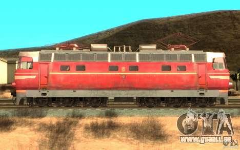 Lokomotiv ChS4-146 pour GTA San Andreas laissé vue