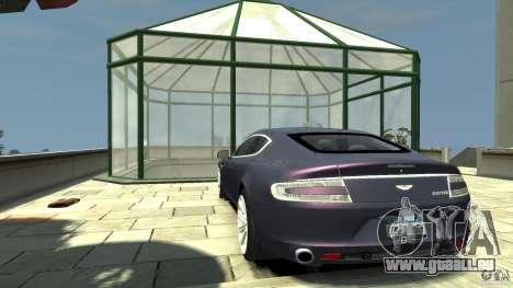 Aston Martin Rapide 2010 pour GTA 4 Vue arrière de la gauche
