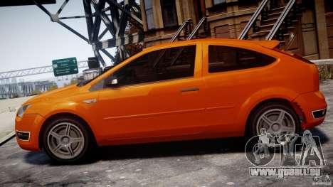 Ford Focus ST pour GTA 4 est une gauche