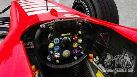 Ferrari F2005 für GTA 4 Innenansicht