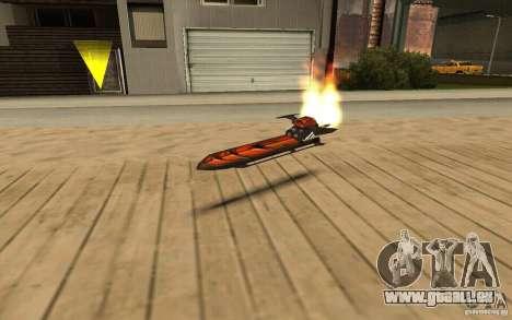 Hoverboard für GTA San Andreas