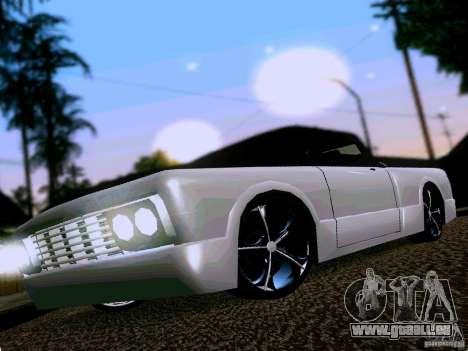 Slamvan Tuned pour GTA San Andreas