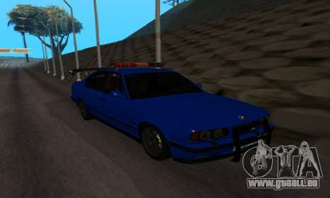 BMW M5 POLICE pour GTA San Andreas