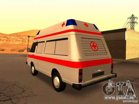 RAPH 2914 tampographie pour GTA San Andreas sur la vue arrière gauche