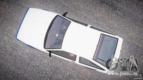 Toyota Trueno AE86 Initial D für GTA 4 rechte Ansicht