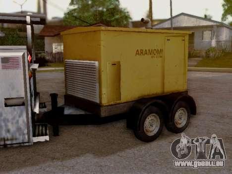 Trailer Generator pour GTA San Andreas vue arrière