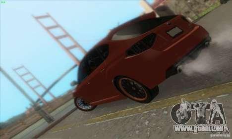 Subaru Impreza WRX STi pour GTA San Andreas vue de dessous