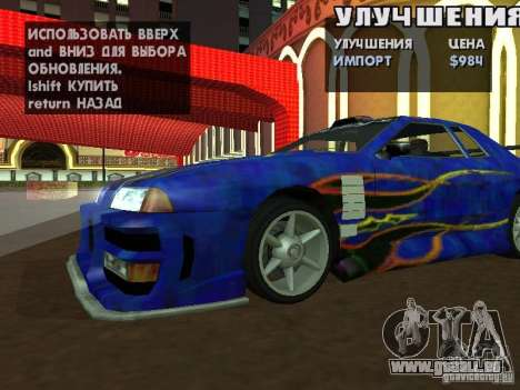 SA HQ Wheels für GTA San Andreas zehnten Screenshot