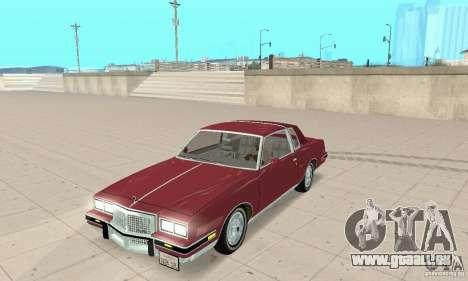 Pontiac Grand Prix 1985 pour GTA San Andreas