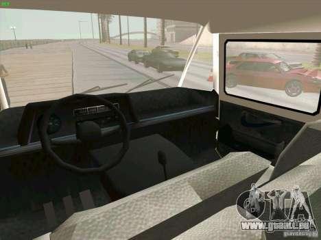 Zuk A-1805 für GTA San Andreas Rückansicht