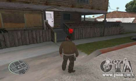 Balles de GTA 4 pour GTA San Andreas deuxième écran